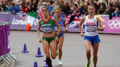 Jogos Olímpicos 2012. Jéssica Augusto sétima na maratona, ganha pela etíope Gelana | iOnline