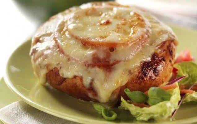 Γεμιστά ψωμάκια με κιμά και τυρί - iCookGreek