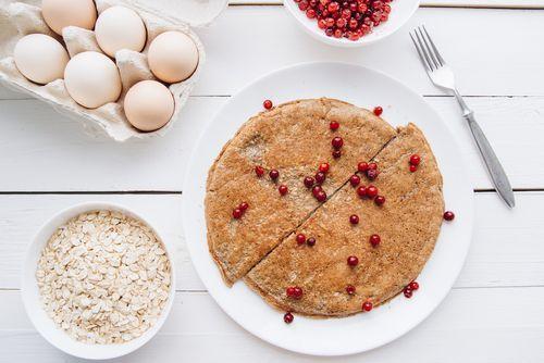 Cómo hacer crepes o pancakes de avena fitness     #CrepesDeAvena #Crepes #PancakesDeAvena #Pancakes #RecetasFaciles #RecetasDePostres