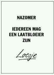 Nazomer - Loesje