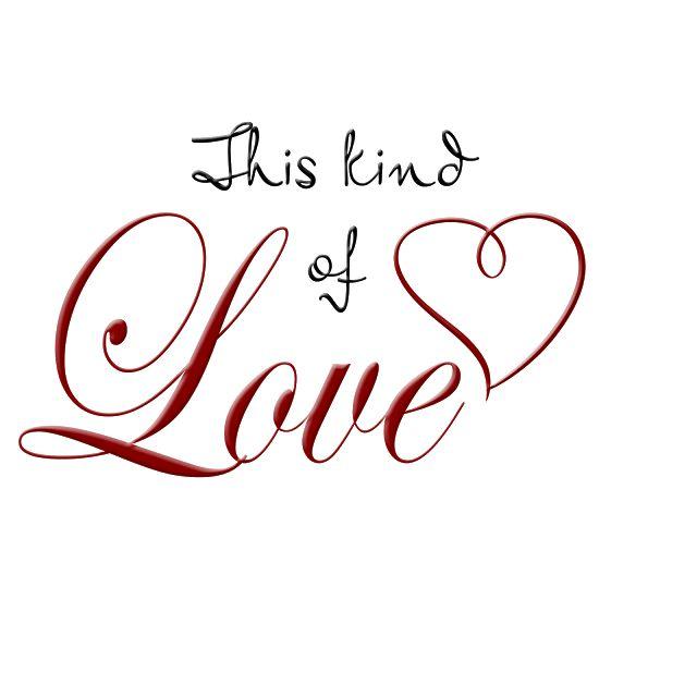 word art png   Scrap Cheese: This kind of love word art freebie ...