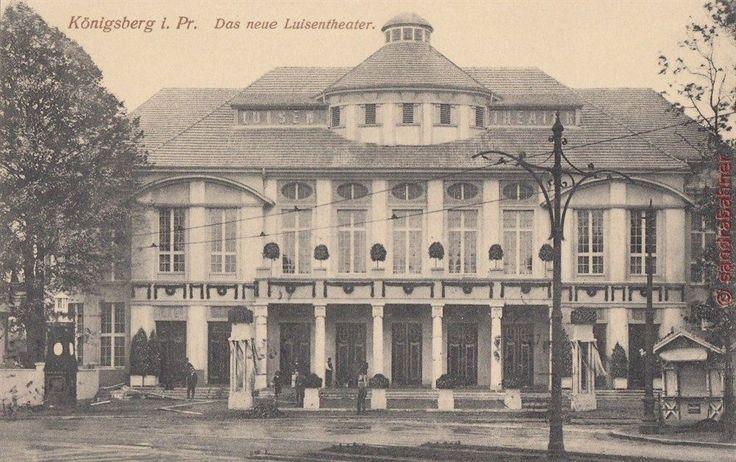 AK Königsberg i. Pr. Das neue Luisentheater, 1912