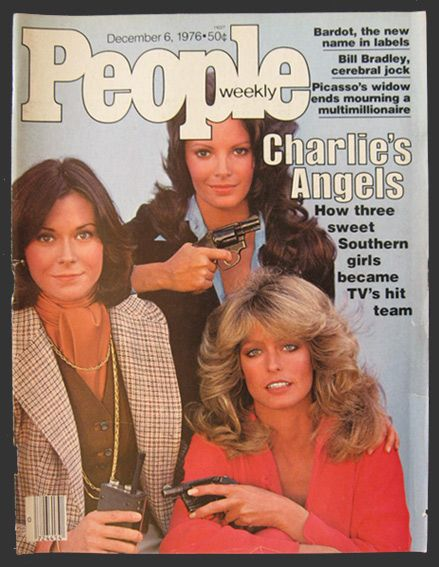 1976 People Magazine Cover ~ Charlie's Angels