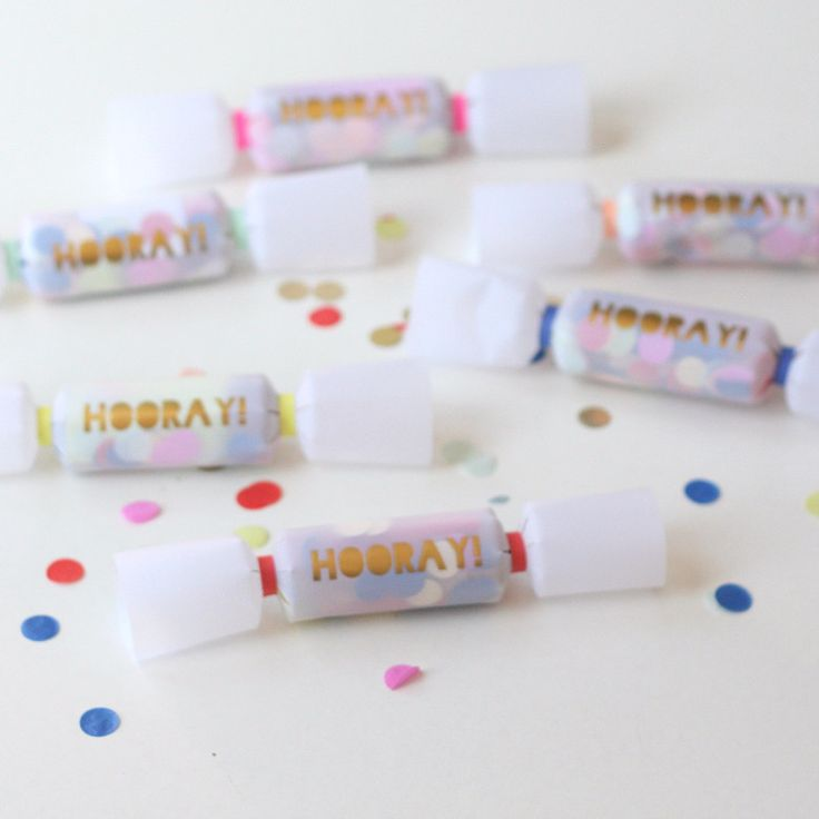 Confetti Crackers from Pretty Little Party Shop - Stylish Party