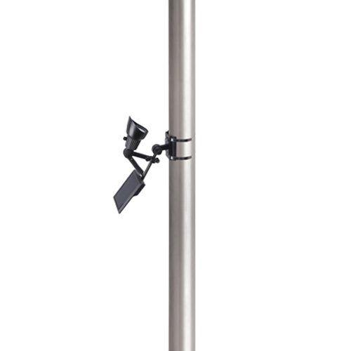 Moonrays Premium Output Solar Powered LED Flagpole Light - 92320