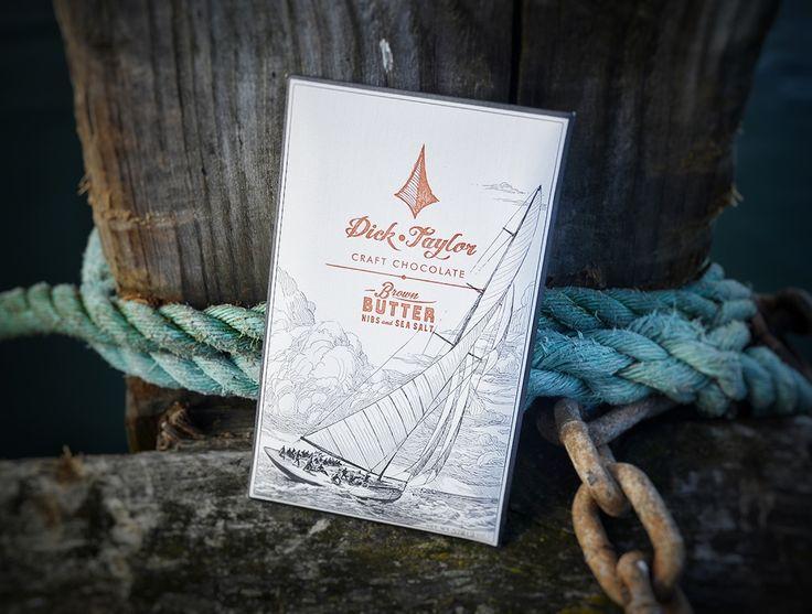 Dick Taylor - Brown Butter, Nibs and Sea Salt bar
