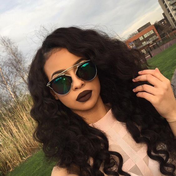 36.80$ Watch now - http://aidbq.worlditems.win/all/product.php?id=32781694981 - Free Shipping Heat Resistant loose Kinky curly Synthetic Lace Front Wig Black Long Curly Cheap Wigs For Black Women High Density