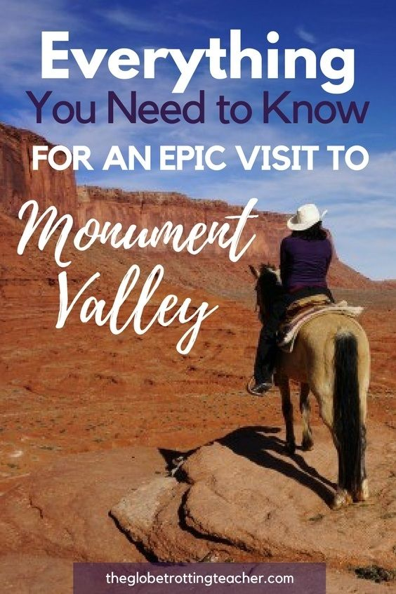 Everything You Need to Know for an Epic Visit to Monument Valley - The American Southwest doesn't get more iconic than Monument Valley! Channel your inner cowgirl/boy and plan a trip to Monument Valley. #usatravel #arizona #monumentvalley #roadtrip