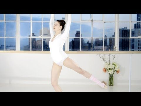 Ballet Beautiful with Mary Helen Bowers - Sculpt and shrink your waist | NET-A-PORTER.COM - YouTube