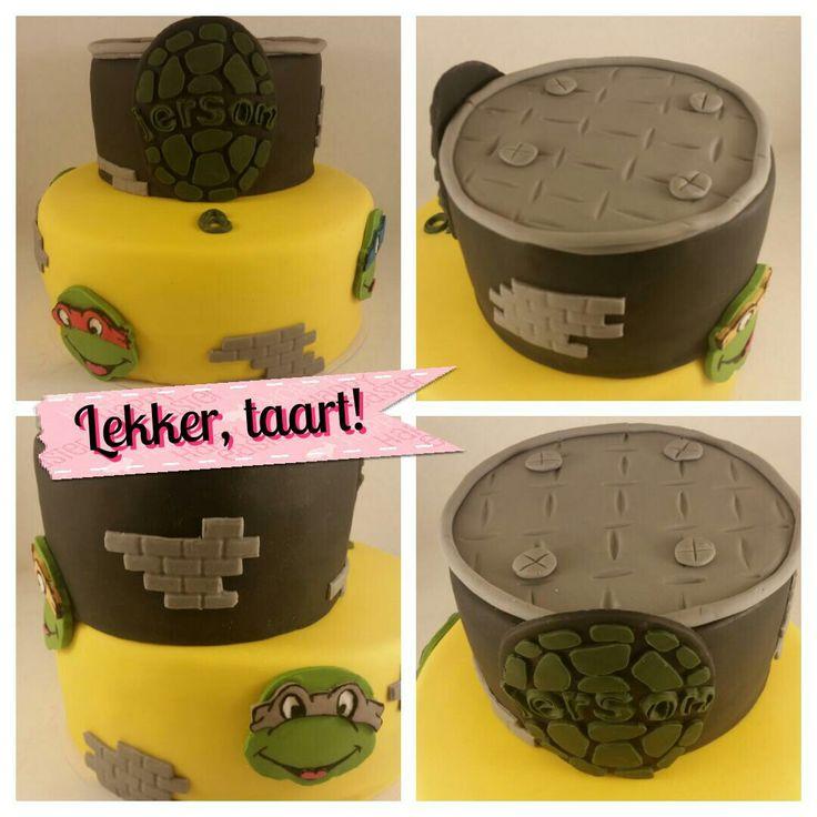 Turtle taart
