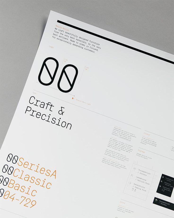 Nolla Nolla brand identity design