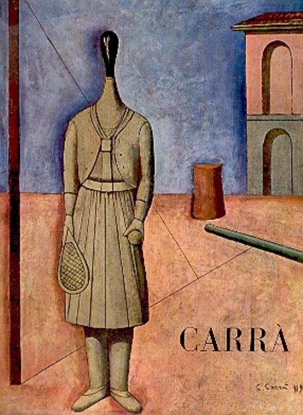 CARRÀ - Carlo Carrà pittore. Milano, Edizioni del Milione (Monografie di artisti italiani contemporanei), 1959