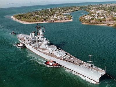 USS Missouri Battleship (BB-63)