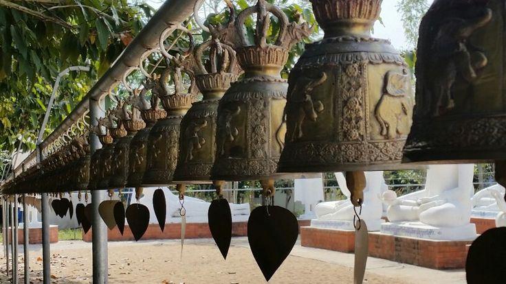 Temple Bells, Phitsanulok Thailand