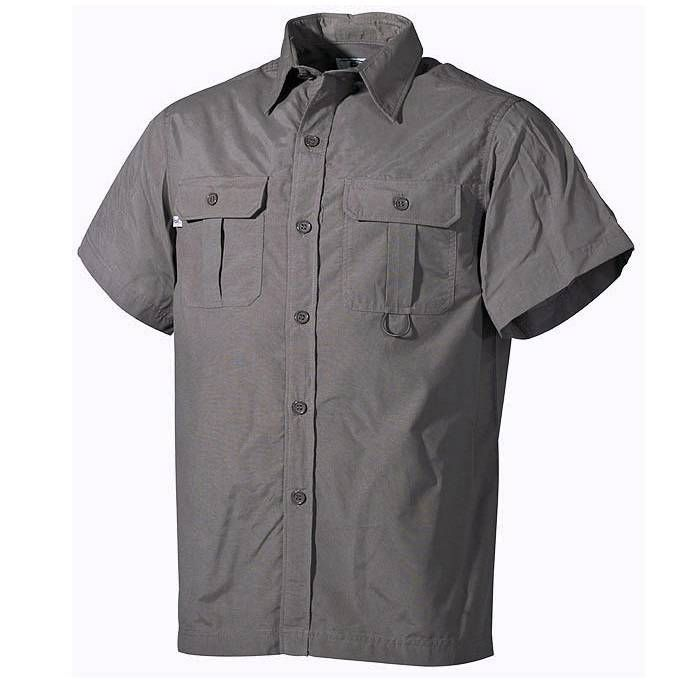 Fox Outdoor Outdoor Hemd, kurzarm, oliv / mehr Infos auf: www.Guntia-Militaria-Shop.de