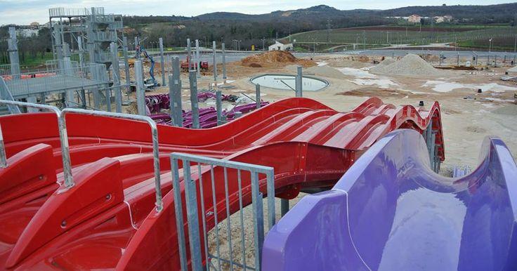Zwei neue Wasserparks in Istrien ab Sommer 2014! #Waserpark #Urlaub #Istrien #Urlaub #Umag #Novigrad
