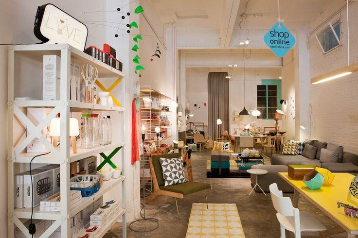 Nordicthink shop in Barcelona, shop photos