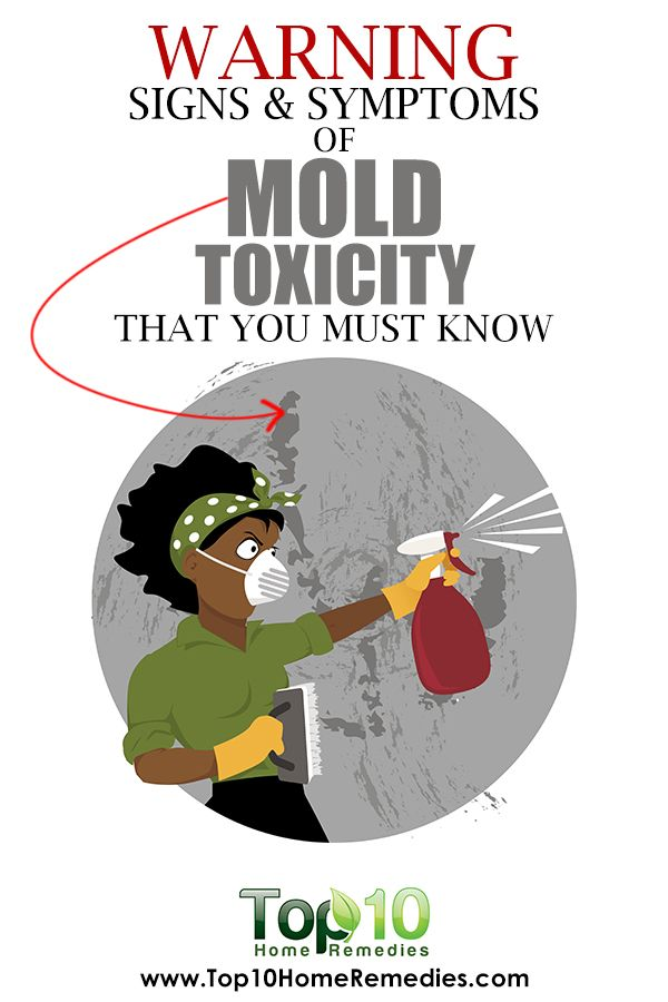 10 Warning Signs and Symptoms of Mold Toxicity that You Must Know