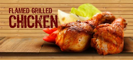 FLAMED GRILL CHICKEN #Grilled #Chicken #drumsticks and #Grilled Wings.