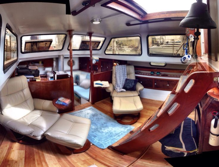 17 Best Images About Sailboat Interior On Pinterest