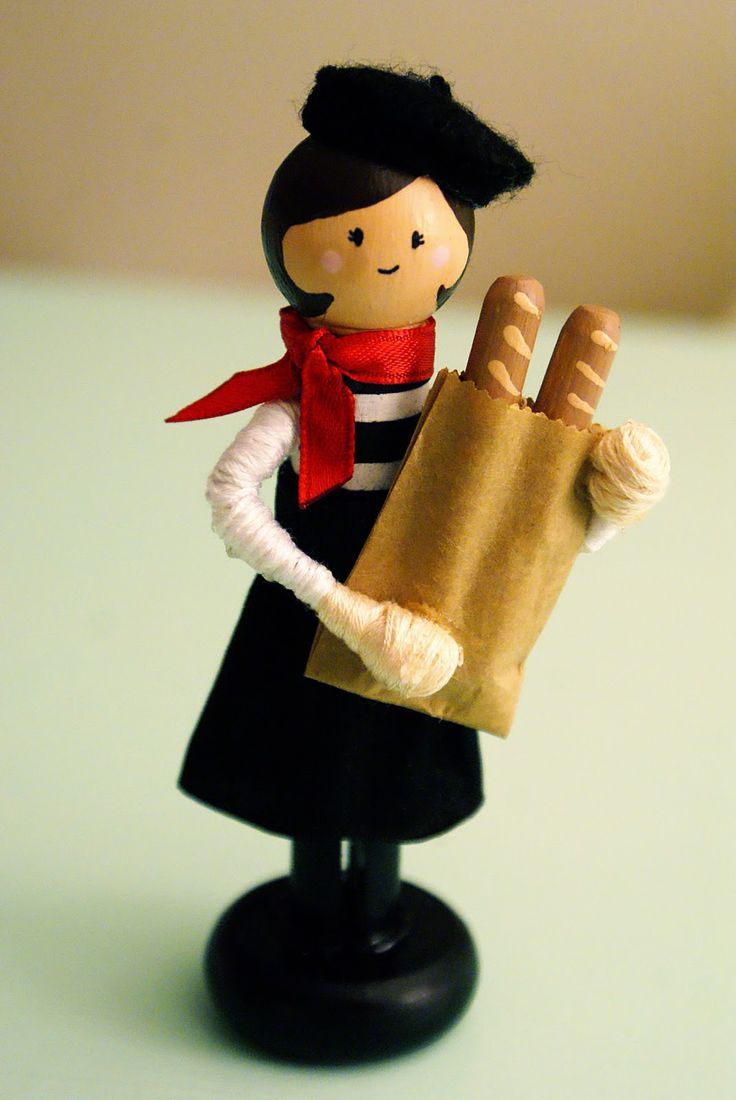 Clothespin Doll Tutorial | We had to make a few modifications since I couldnt find any doll ...