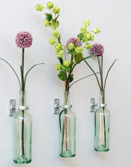 5 maneiras de reutilizar garrafas de vinho | JARDINARIA