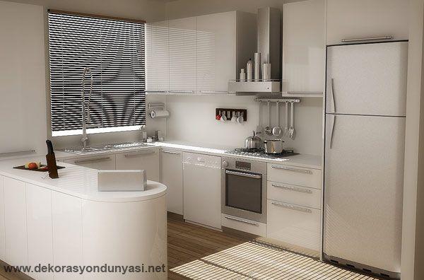 Açık Mutfak Modelleri - Dekorasyon Dünyası