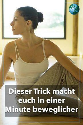 Dieser Trick macht Sie in einer Minute viel beweglicher – Video – Moni Dreyer