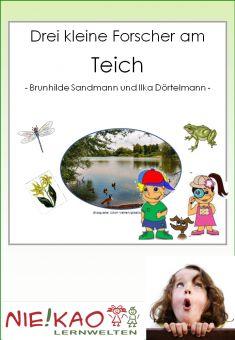 Eine Werkstatt zum Thema Tiere und Pflanzen am Teich.