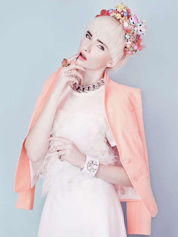 'Blossom': pastel-hued portrait series by photographer Natalia Madejska exudes an ethereal air.