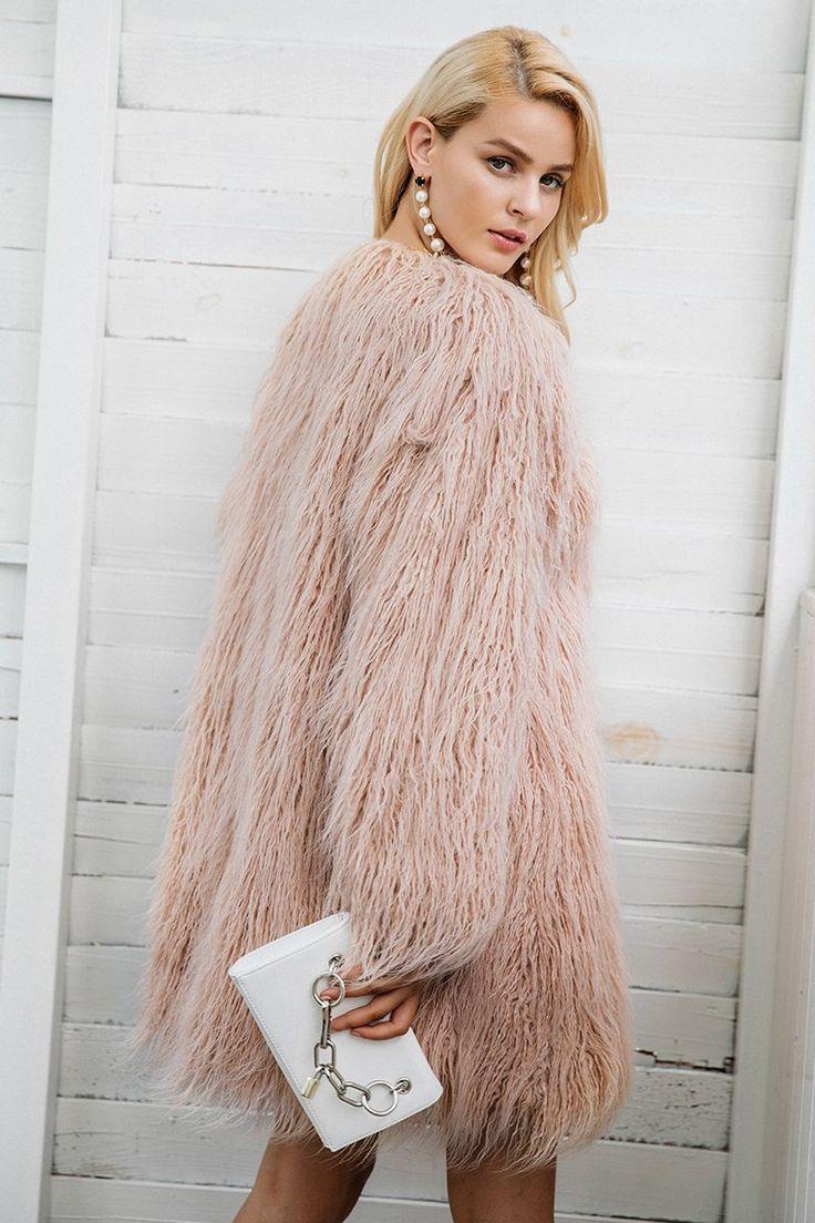 Socialite Faux Fur Coat