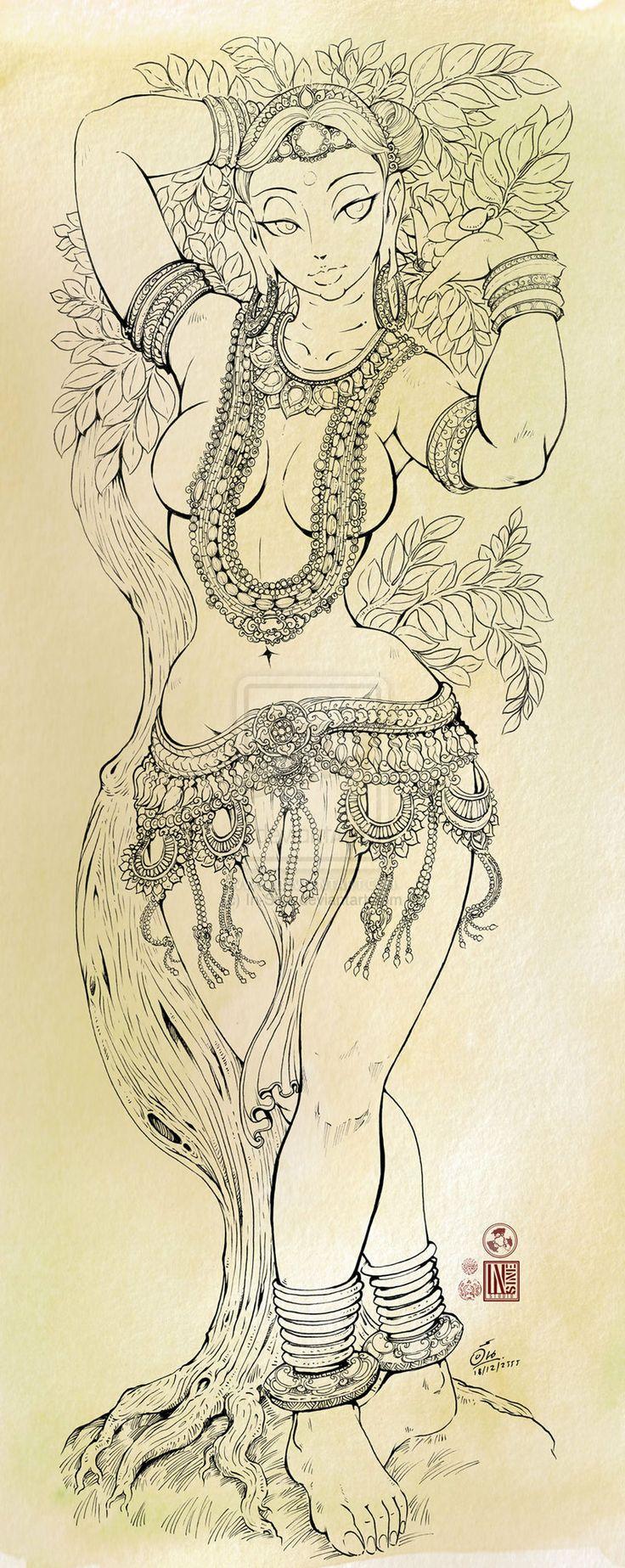Yakshi by In-Sine.deviantart.com on @deviantART