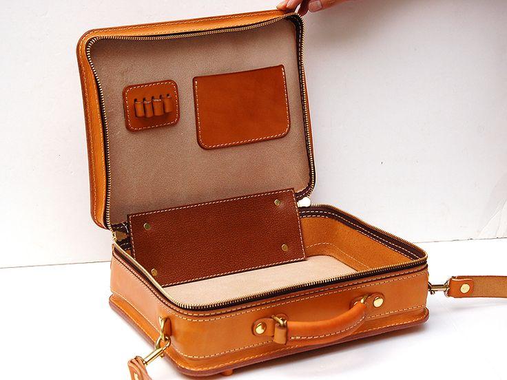 革好きの為に作る一枚革仕上げの箱型鞄・2wayビジネスバッグ「革鞄のHERZ公式通販」