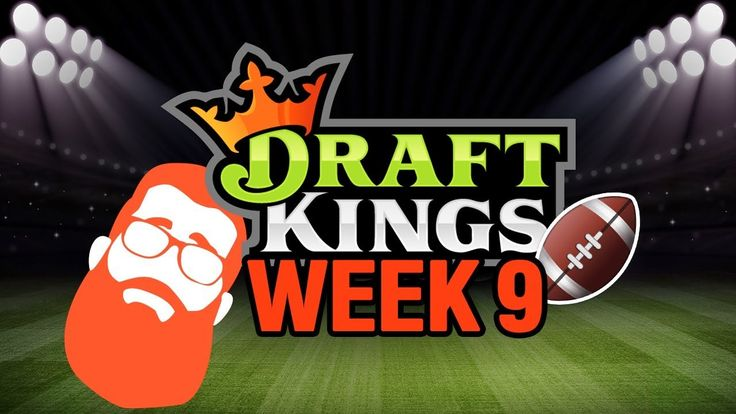 DFS Week 9 Picks 2017 NFL & My weekly fantasy football contest! #fantasyfootball #dfs #contest