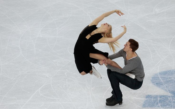 9 jaw-dropping photos that will make you believe in ice dancing - The Week - Russia: Ekaterina Bobrova and Dmitri Soloviev. | (AP Photo/Ivan Sekretarev)