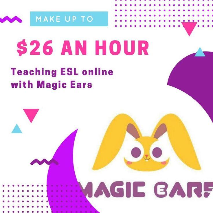 Magic Ears Online Teaching workfromhome