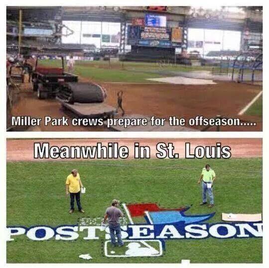 Those poor Milwaukee bastards.. GO CARDS! :)