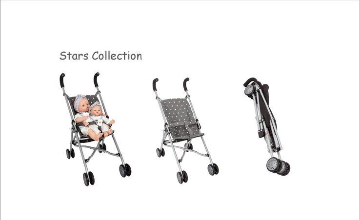 La colección de estrellas de Barrutoys es ideal para salir a dar un paseo con tus muñecas. #sillitas #cochecitoestrellas #starscollection #stars