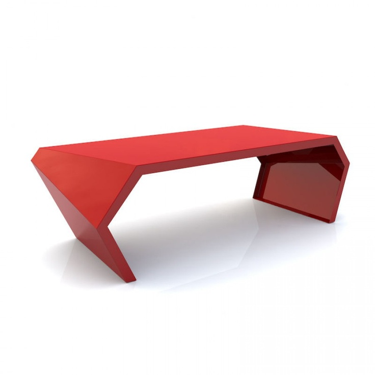 28 best arktura images on pinterest ceilings contours for Red modern coffee table
