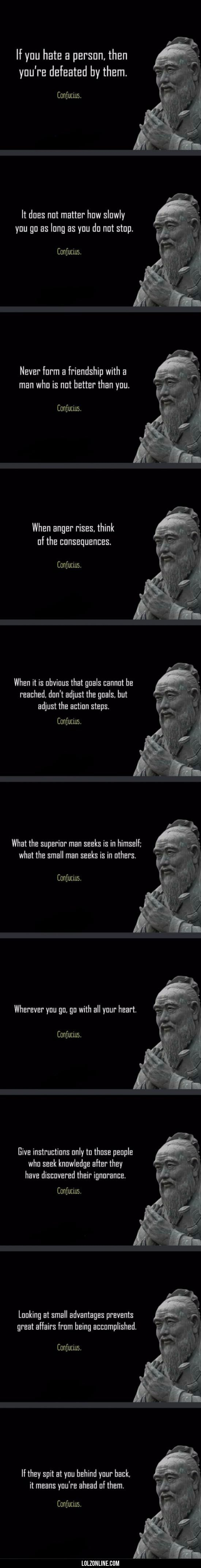Confucius says this title is clever.#funny #lol #lolzonline