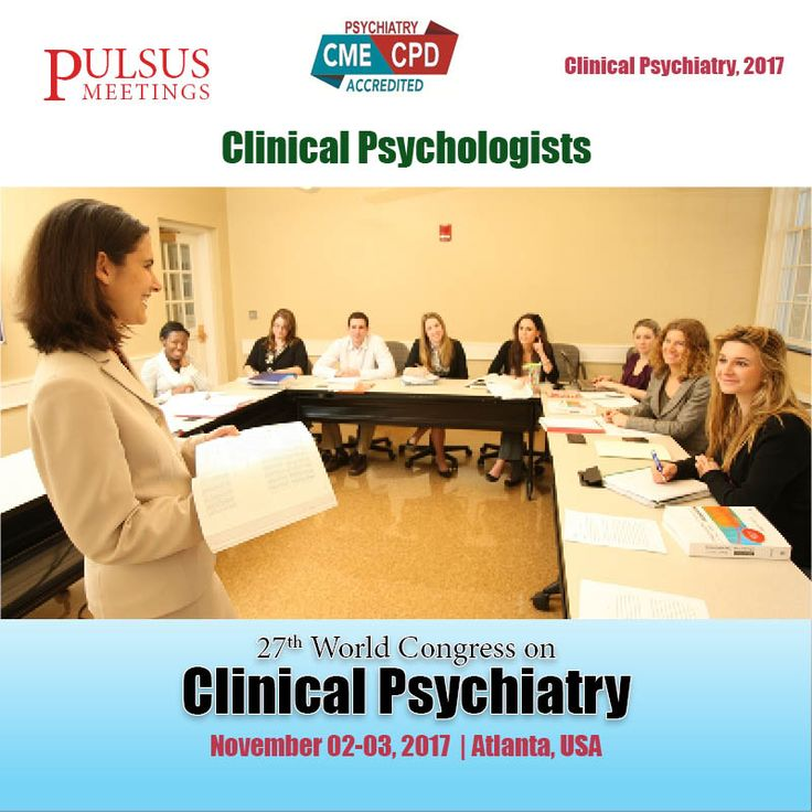 The second track of the Psychiatry meetings is about Clinical Psychologist. The focus of clinical psychologist to reduce the distress and improve the psychological wellbeing of clients.