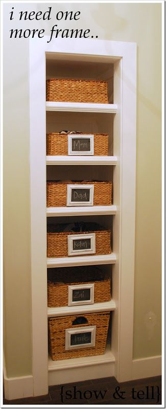 How to turn a closet into shelving ...