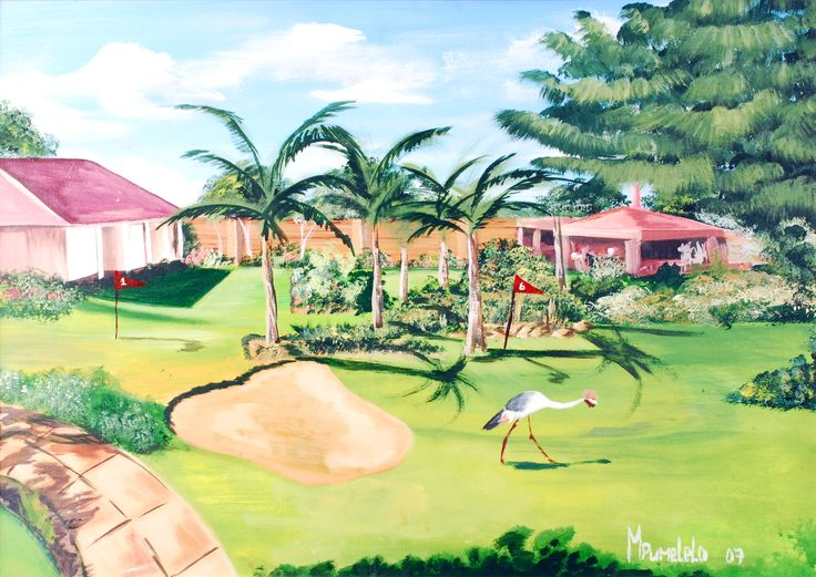 MOGAle Business Park painting