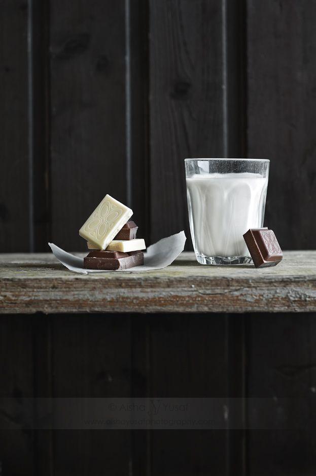 Leite com chocolate!