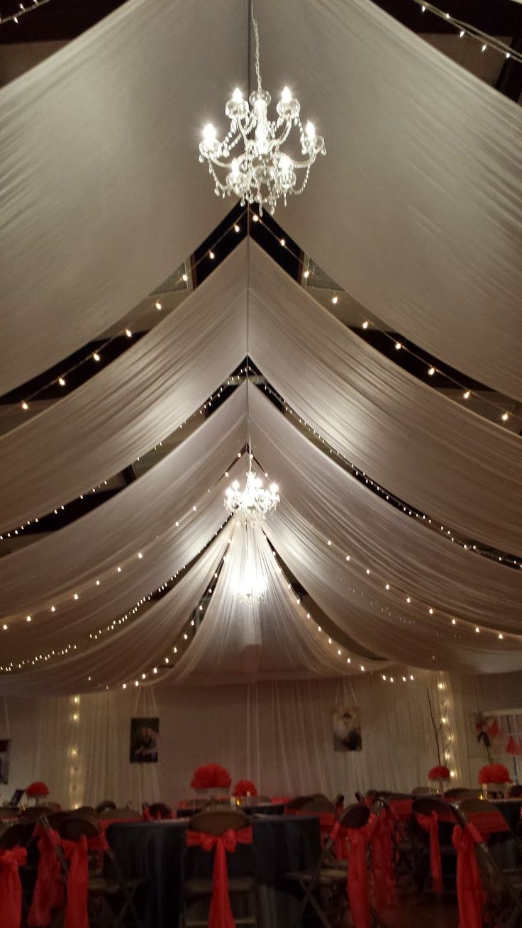 Best 25 gym wedding reception ideas only on pinterest for Christmas hall decorations