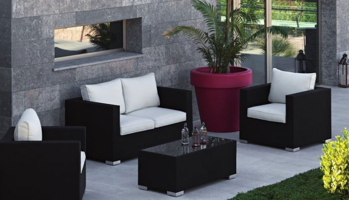 101 best images about terraza y jardin on pinterest for Almohadones para sillones jardin