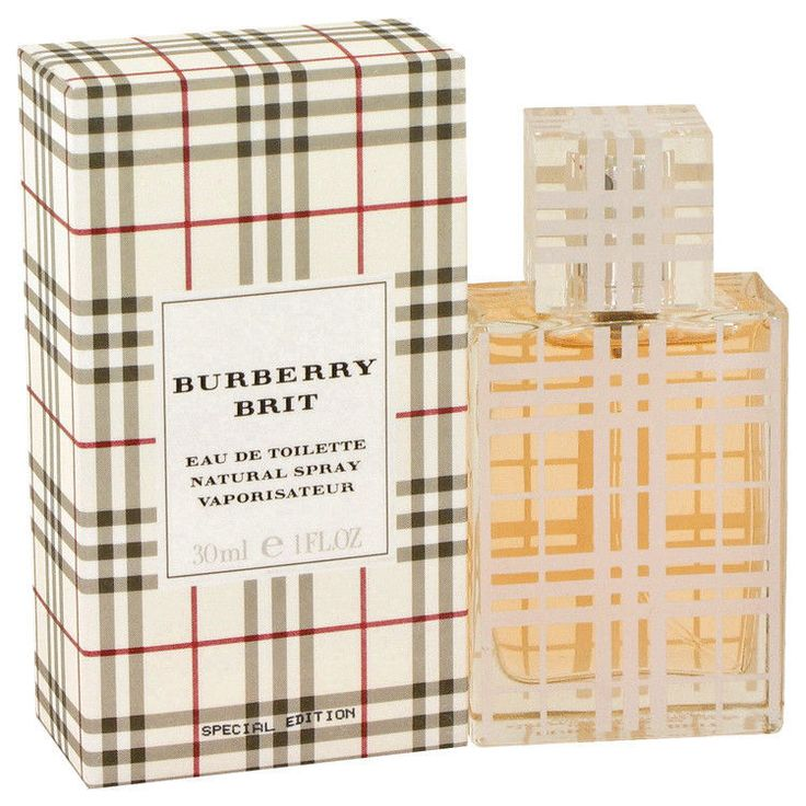 burberry brit eau de parfum spray p75z  Burberry Brit Ladies Eau De Parfum Spray 1 Oz
