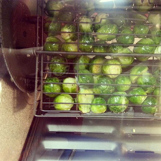 Roasted Brussels Sprouts - Ronco Rotisserie Oven Recipes - Ronco.com