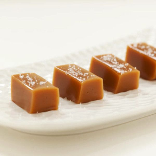 Fleur de Sel Caramels | $14. These are rich, creamy and truly a luxurious treat, sprinkled with the finest of sea salts hand harvested from Camarge, France. Available at: manykitchens.com