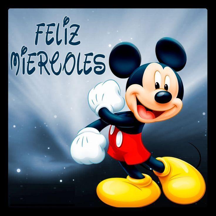 imagen de mickey mouse de amistad | Fotos Con Una Frase De Feliz Miércoles | Mensajes Cortos De Amor